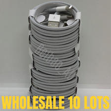 10x Wholesale Bulk 3Ft 6Ft Usb iPhone Lightning Charger Charging Cable Cord Lot