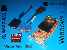 HP Compaq SFF dc7100 dc7600 dc7700 dc7800 dc7900 3-Monitor VGA 1GB Video Card