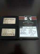 Seymour Duncan Custom Shop PAF Queen Bucker Humbucker Set Aged Nickel