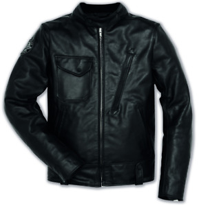 Ducati Scrambler Cafe Racer Leather Jacket