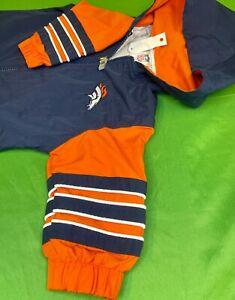B828/210 NFL Denver Broncos Baby Vintage Windsuit 6-9 months