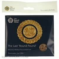 2016 The Last Round £1 Coin BU Sealed in Royal Mint Pack - One Pound Coin