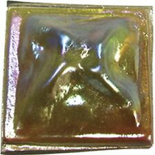 """Stained Glass Supplies - Jewels -PINCHBACK-1""""-AMBER (1321) FREE SHIPPING"""