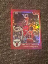 Michael Jordan 1996 topps stars 1985 star rookie reprint refractor rare