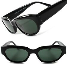 Classic Black Mens Womens Vintage Retro Fashion Small Rectangle Sunglasses B92