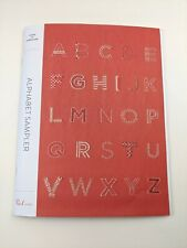Purl Soho Alphabet Sampler Transfers Embroidery Patterns Letters Embroider