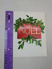 Colors by Design Stephen M. Davis Design Noel Christmas Holiday Card