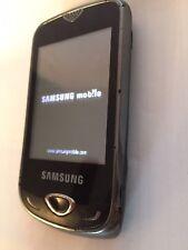 Samsung Corby 3G GT-S3370 - Black (Unlocked) Cellular Phone