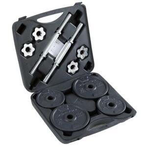 Domyos Weight training dumbbell kit 20 Kg [Threaded] Brand new Fast delivery!]