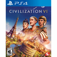 PlayStation 4 (PS4) Sid Meier's Civilization VI BRAND NEW SEALED