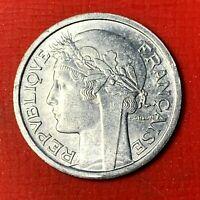 #5010 - 1 franc 1948 Morlon Alu SUP - FACTURE