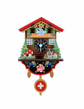 "Wanduhr ""Swiss House Clock"" zum Zusammenbauen, Bausatz, DIY, KIKKERLAND"
