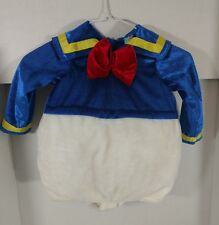 Donald Duck Costume Sz 2T Halloween Toddler Baby Outfit Disney -HAT NOT INCLUDED