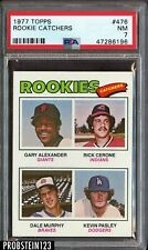 1977 Topps #476 Dale Murphy RC Rookie PSA 7