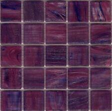 25pcs GM95 Mauve Bisazza Le Gemme Italian Glass Mosaic Tiles 2cm x 2cm