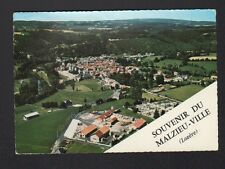LE MALZIEU-VILLE (48) USINE & VILLAS en vue aérienne 1966