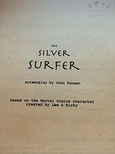 Silver Surfer unfilmed unproduced screenplay John Turman Marvel Fantastic Four