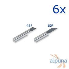 6 Plottermesser für Ioline 60° - ALPUNA Qualitätsmesser
