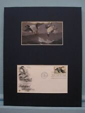 Winslow Homer's Painting of Ducks & First Day Cover