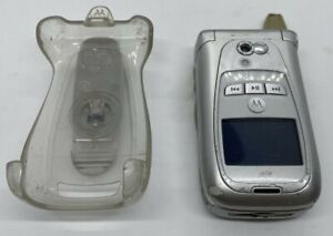 Motorola i series i870 - Silver (Sprint) Cellular Phone