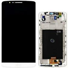 DISPLAY LCD SCHERMO originale per LG Optimus G3 bianco touch assemblato D855
