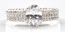 2.00Ct Charming Oval Shape Solitaire Wedding Ring In 925 Sterling Silver