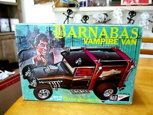 MPC Barnabus Vampire Van Model Kit TV Show DARK SHADOWS