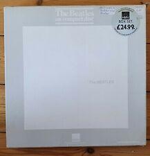 CD The Beatles White Album - Limited HMV Box Set + Booklet + Button - BEA CD25/4