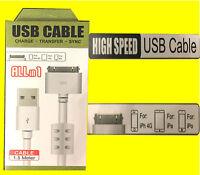 Ladekabel Für Iphone 4 4s  Ipad 3 2 1  Ipod Nano USB Datenkabel Lightning