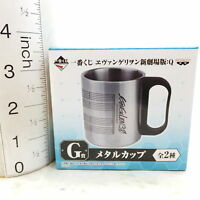 *G0448 Japan Anime Banpresto Metal Cup Evangelion
