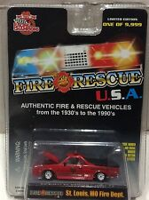 ST. Louis Missouri Fire Dept.1986 Chevy EL Camino RACING CHAMPIONS FREE SHIPPING