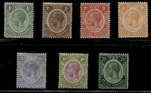BRITISH HONDURAS *************** 1922-1933 MINT SELECTION WITH BETTER