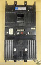 GE TB 3 pole 400 amp 600v TB43400 TB43F Tri Break Circuit Breaker