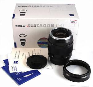 New Zeiss Planar T* 35mm f/2 ZE Lens for Canon EOS 6D II 5D III 1DX 1D Mark
