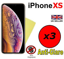 3x MATTE ANTI GLARE SCREEN PROTECTOR COVER GUARD FILMS FOR APPLE IPHONE XS