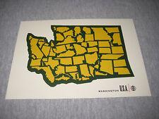 SUB POP SEATTLE Postcard Washington Pearl Jam Nirvana Grunge Soundgarden USA