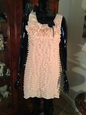 Tsega Shell Pink Cocktail Party Dress - Size M/L - BNWT