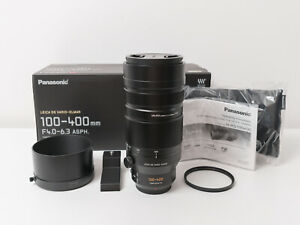 Panasonic 100-400mm F4-6.3 Power OIS Leica Micro 43 Lens ~Excellent Condition