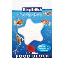 HOLIDAY BLOCK - (14 Days / 15 Fish) - King British Coldwater Tropical bp Feed