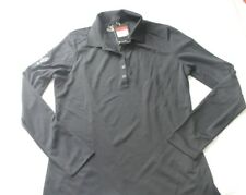 Nike Women's Longsleeve Victory Polo Dri-Fit Size L Large Discontinued
