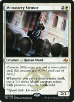 1x NM-Mint, English Regular Monastery Mentor Fate Reforged