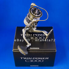 Shimano 15 TWIN POWER C3000, Spinning Reel Made In Japan, 033697