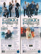 CSI: MIAMI - Season 1 --- die komplette 1. Staffel --- alle 24 Episoden ---