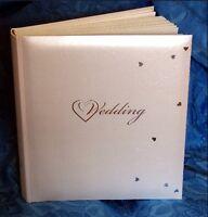 Wedding Photo Album Fleur De Lys Design Interleaved Tissue Pages Gift #4