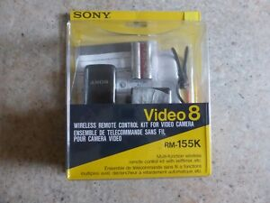 Sony rm155k video 8 With Manual Fast Dispatch Brand new