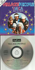 VILLAGE PEOPLE Ymca PWL & 1993 FRENCH RADIO MIX CARD SLEEVE CD single USA Seller