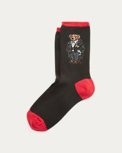 Polo RALPH LAUREN Socks Tuxedo wearing Polo Bear