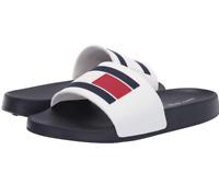 TOMMY HILFIGER Women's TW DILLIS-X Logo Script Slide Sandal Size 9