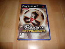 PRO EVOLUTION SOCCER MANAGEMENT PARA LA SONY PLAY STATION 2 PS2 NUEVO PRECINTADO