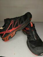 Salomon Mens Size 12 XT Wings 3 Mountain Trail Red/black Running Shoes EUR 46